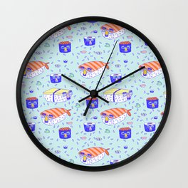 Incognito Sushi Wall Clock