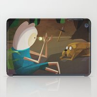 jake iPad Cases featuring Finn & Jake by modHero