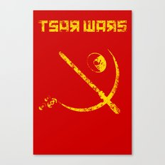 Tsar Wars Canvas Print