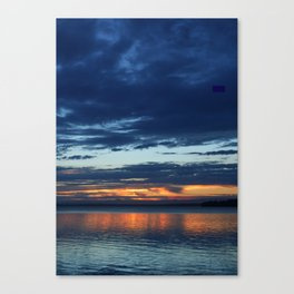 Sunset At St Georges Basin Canvas Print