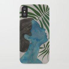 palmiye ( trabzon hasırı & kazaziye ) Slim Case iPhone X