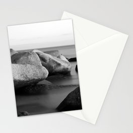 Stones in the sea Stationery Cards