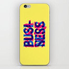 Business & Pleasure iPhone Skin