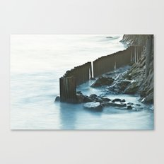 Fenced Water Canvas Print