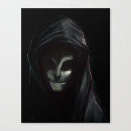 Vierge Noire Canvas Print