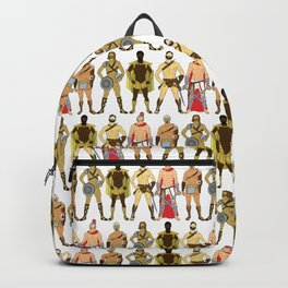 5 Gladiators and Warriors Backpack
