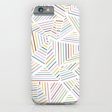 Ab Linear Rainbowz iPhone 6s Slim Case
