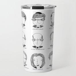 The Architectural Dream Team Travel Mug