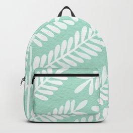 Mint Leaflets Backpack