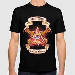 Pizza is my religion T-shirt