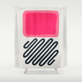 Candy Floss Bubble Gum Shower Curtain