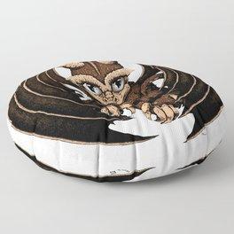Terra- Earth Dragon Floor Pillow