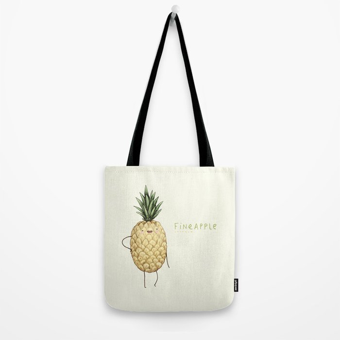 Fineapple Tote Bag