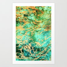 Marble 4 - for iphone Art Print