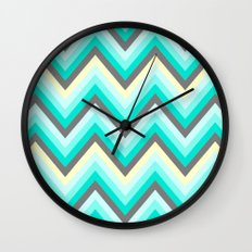 Simple Chevron Wall Clock