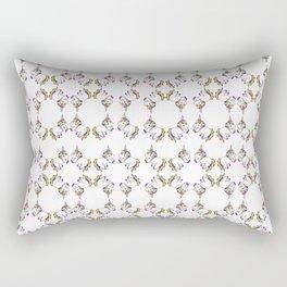 Plushie Unicorn Pattern Rectangular Pillow