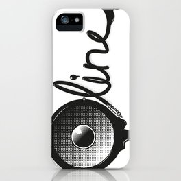 Bassline iPhone Case
