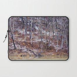 winter tree abstract Laptop Sleeve