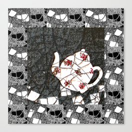 Broken teapot Canvas Print