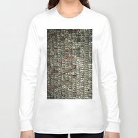 letters Long Sleeve T-shirts featuring Letters by Sébastien BOUVIER