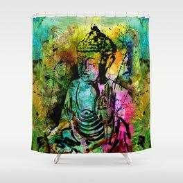 Buddha Love No. 11 Shower Curtain