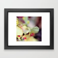 someone passing by Framed Art Print