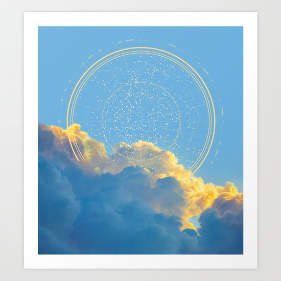 Create Your Own Constellation Art Print