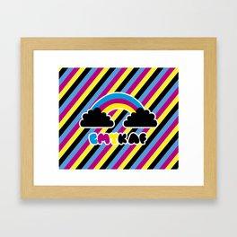 CMYK AF Framed Art Print