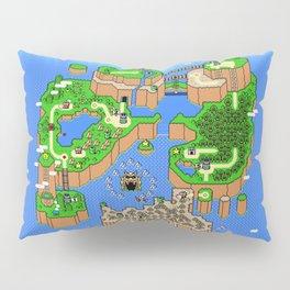 The World of Super Mario Pillow Sham