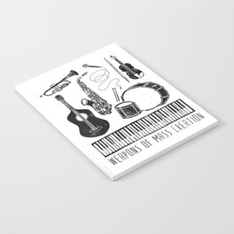 Weapons Of Mass Creation - Music Notebook