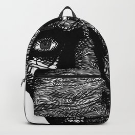 Misterious Man Backpack