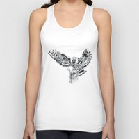 eagle Tank Tops featuring Eagle by Anna Shell