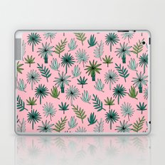 Palm tropical illustration by andrea lauren palm leaves palm trees desert island Laptop & iPad Skin