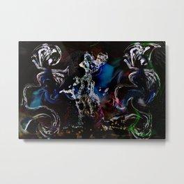 Universum Dance Metal Print