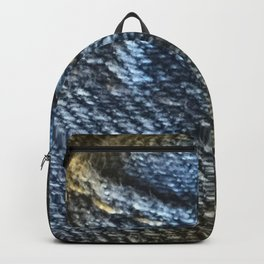 Jeans Fabric Backpack