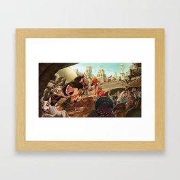 Street Gang Framed Art Print
