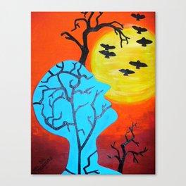 Mind Tree Canvas Print