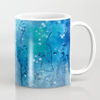 fireflies Mugs featuring Fireflies by Deborah Lehman