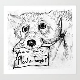 Plastic Fangs Collective Art Print