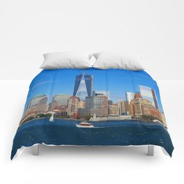 One World Trade Center Comforters