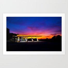 Somerset Shell Art Print