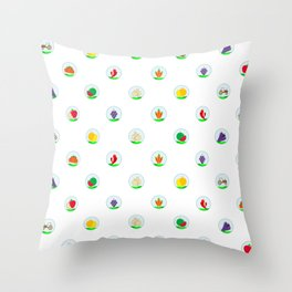 Agriculture Pattern Sgt Throw Pillow