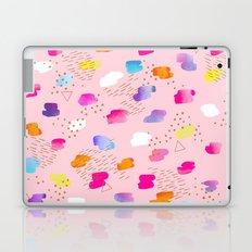 Watercolor abstract drops Laptop & iPad Skin