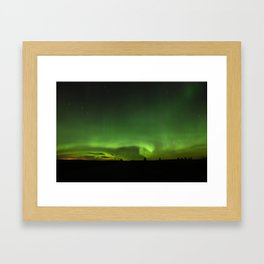 Natures Night Lights. Framed Art Print