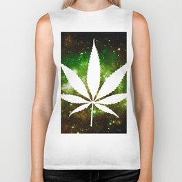 Weed : High Times Galaxy Biker Tank