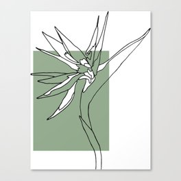 Touch of Heliconia Series #2 Canvas Print