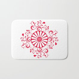 Gyspy Wheel Mandala Bath Mat