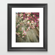 She Had a Spirit That Was Wild and Free Framed Art Print