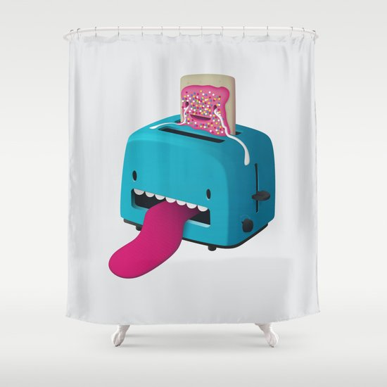 Pop Tart Shower Curtain