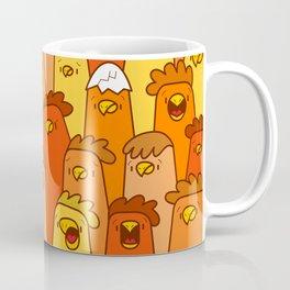 Pile of Clucks Coffee Mug